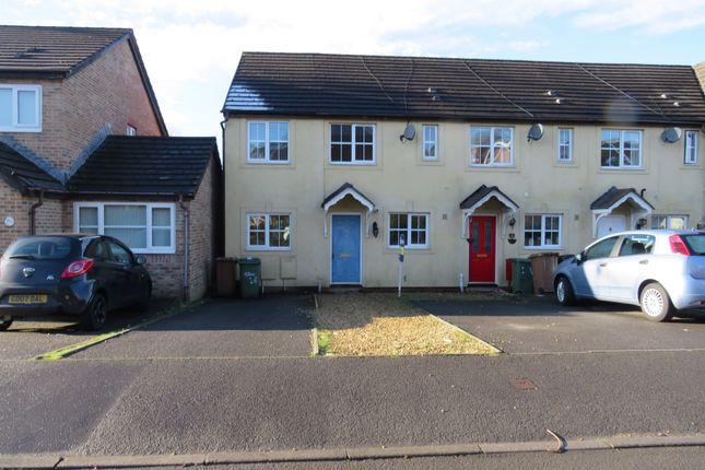 Thumbnail End terrace house for sale in Downey Grove, Penpedairheol, Hengoed