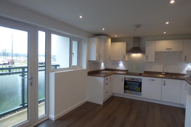 Thumbnail Flat to rent in Vespasian Road, Milton Keynes