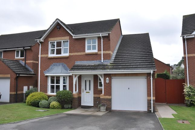 Detached house for sale in Rews Park Drive, Pinhoe, Exeter