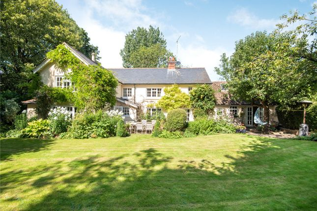 Thumbnail Detached house for sale in Over Wallop, Stockbridge, Hampshire