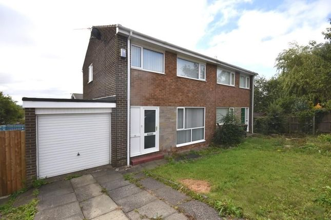 3 bed semi-detached house to rent in Wooley Drive, Ushaw Moor, Durham DH7