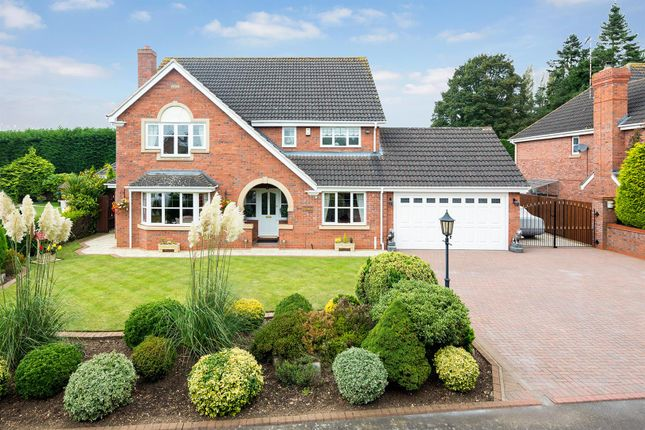Thumbnail Detached house for sale in Bawnmore Road, Bilton, Rugby
