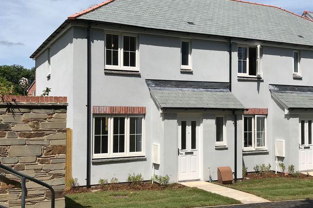 "Thumbnail End terrace house for sale in ""The Hanbury"" at Callington Road, Liskeard"