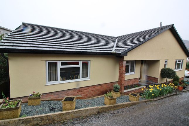 Thumbnail Detached bungalow for sale in Union Road West, Abergavenny