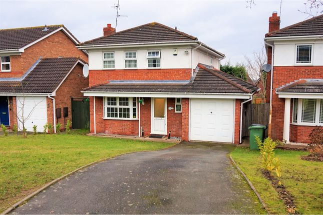 Thumbnail Detached house for sale in Grosvenor Way, Droitwich
