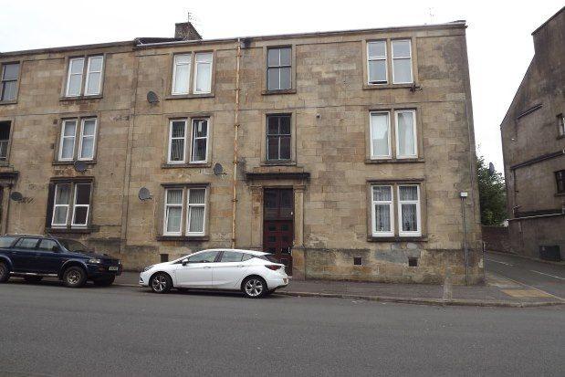 Thumbnail Flat to rent in South Street, Greenock
