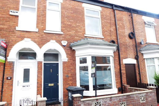 Thumbnail Terraced house to rent in Thoresby Street, Hull