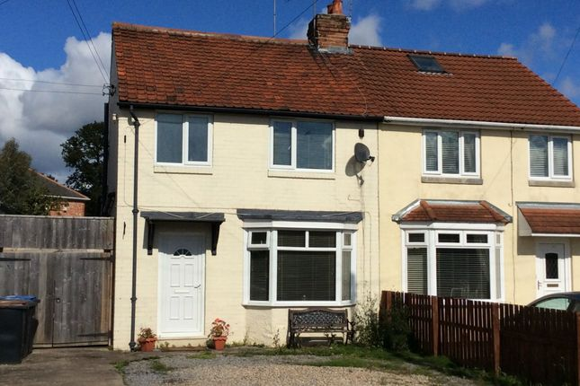 Thumbnail Semi-detached house to rent in Broadway, Chester Le Street, County Durham