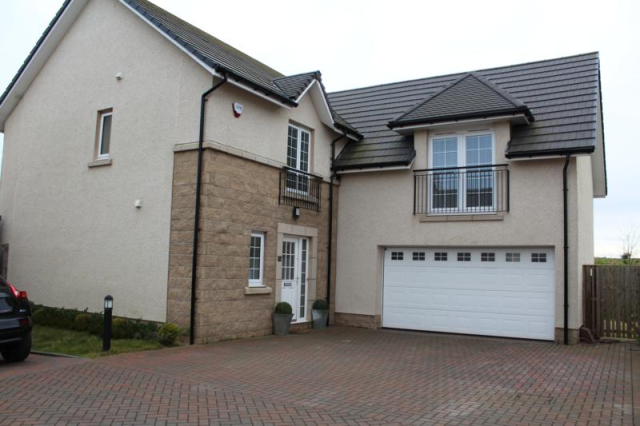 Thumbnail Detached house to rent in Blairythan Place, Fovern AB41,