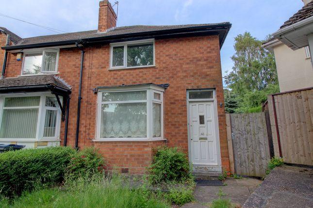 Thumbnail End terrace house for sale in Harleston Road, Great Barr, Birmingham