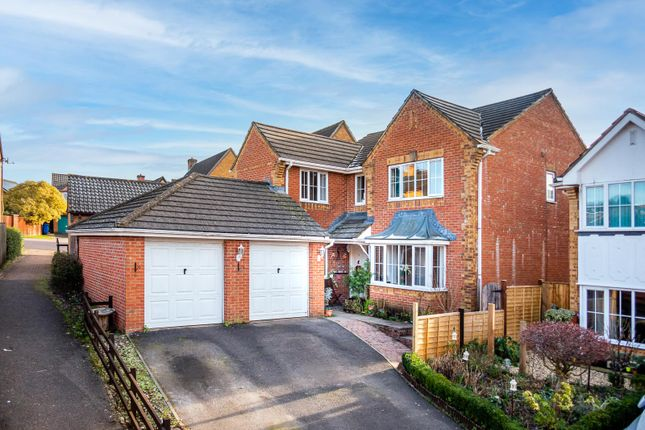 Thumbnail Detached house for sale in Hadrian Close, Lydney