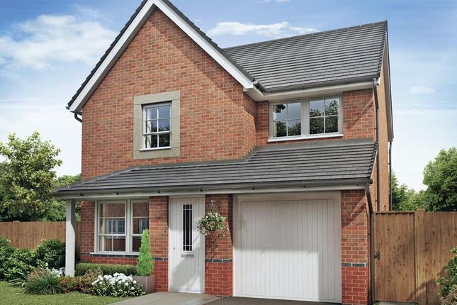 "Thumbnail Detached house for sale in ""Derwent"" at The Ridge, London Road, Hampton Vale, Peterborough"