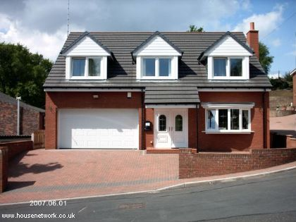 Thumbnail Detached house for sale in 10, Top Schwabe Street, Rhodes, Middleton, Manchester, Lancashire