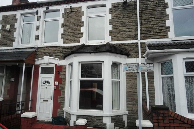 Thumbnail Terraced house to rent in St. Fagans Street, Caerphilly
