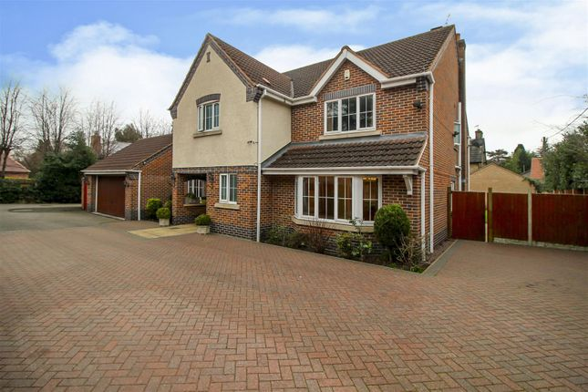 Thumbnail Detached house for sale in Elwin Drive, Bramcote, Nottingham