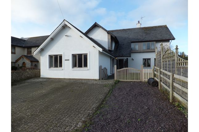 Thumbnail Detached house for sale in Llanbethery, Barry