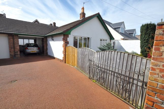Thumbnail Detached bungalow for sale in Park Street, Wallasey