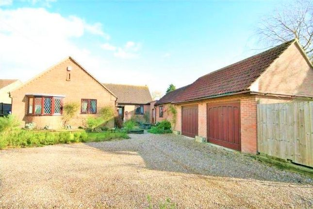 Thumbnail Detached bungalow for sale in Little Humby, Grantham