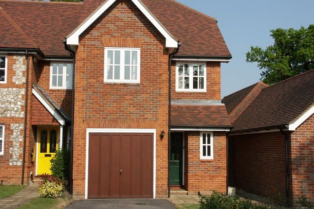 Thumbnail End terrace house to rent in Oakfield Close, Amersham, Buckinghamshire