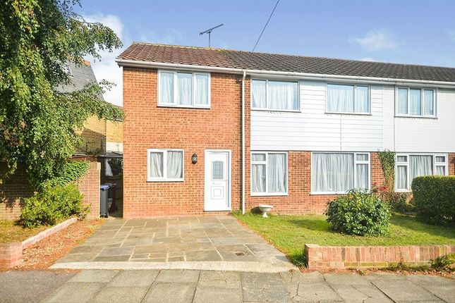Thumbnail Semi-detached house to rent in Hanover Place, Canterbury