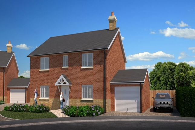 Thumbnail Detached house for sale in Hawthorn Rise, Tibberton, Droitwich