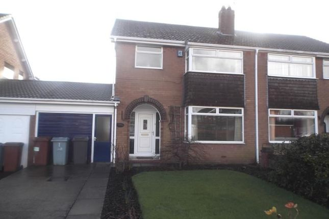 Thumbnail Semi-detached house to rent in Long Lane South, Middlewich