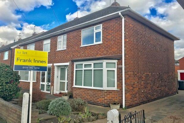 Thumbnail Semi-detached house to rent in Tudor Road, West Bridgford, Nottingham