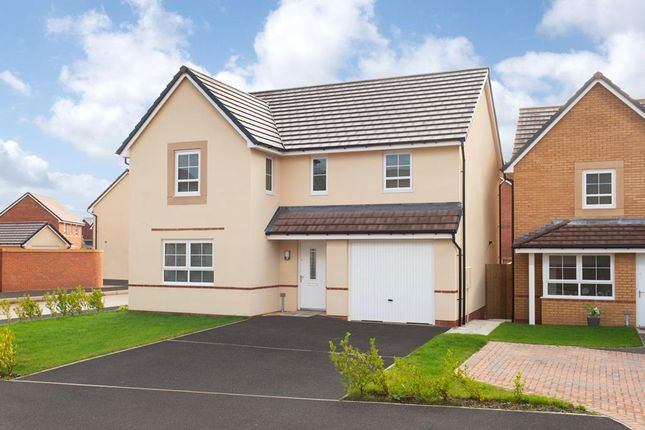 "Thumbnail Detached house for sale in ""Hale"" at Llantarnam Road, Llantarnam, Cwmbran"
