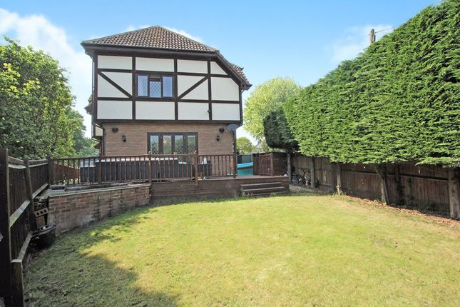 Thumbnail Detached house for sale in Hill Crest, Sidcup, Kent