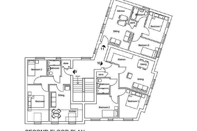 Thumbnail Flat to rent in Redbridge Court, Castle Street, Hadley, Telford