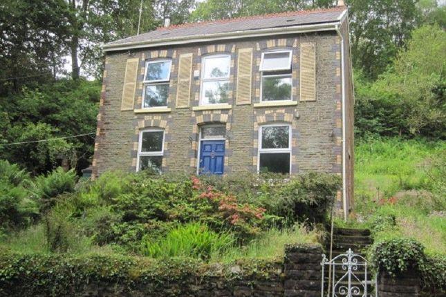 Thumbnail Detached house for sale in Rhiwfawr Road, Lower Cwmtwrch, Swansea.
