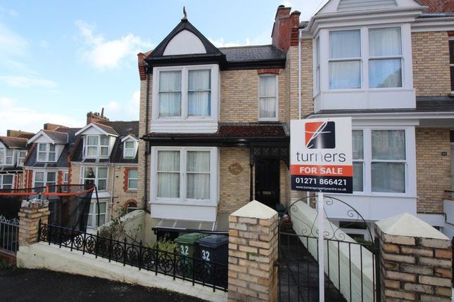 Thumbnail End terrace house for sale in Station Road, Ilfracombe