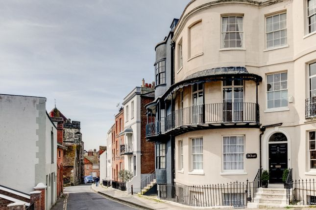 Thumbnail Town house for sale in Croft Road, Hastings