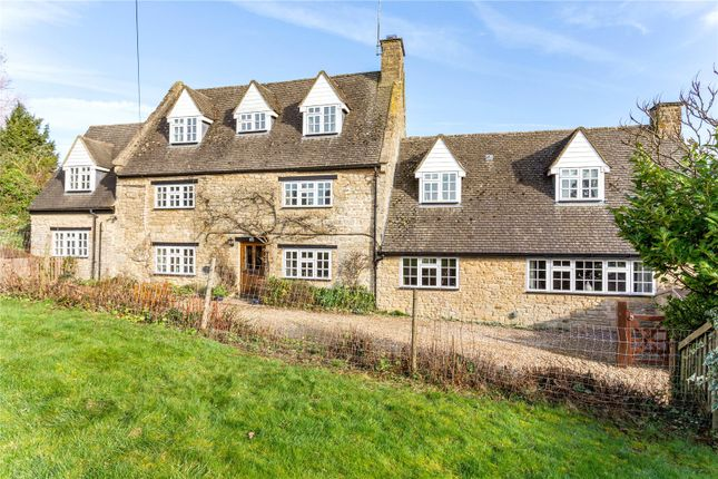 Thumbnail Detached house for sale in Wappenham Road, Helmdon, Brackley, Northamptonshire