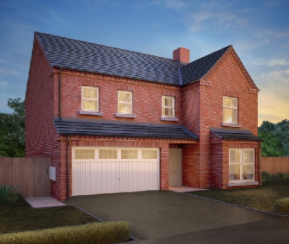 5 bedroom detached house for sale in The Valencia, Resevoir Road, Burton Upon Trent, Staffordshire