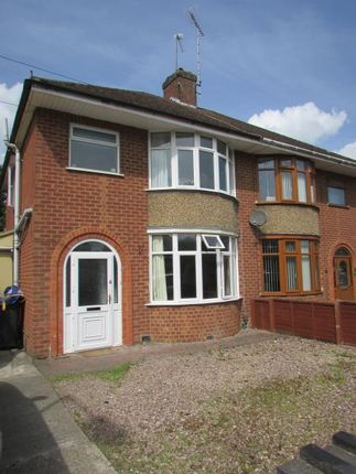 Thumbnail Semi-detached house to rent in Lytham Road, Rugby, Warwickshire