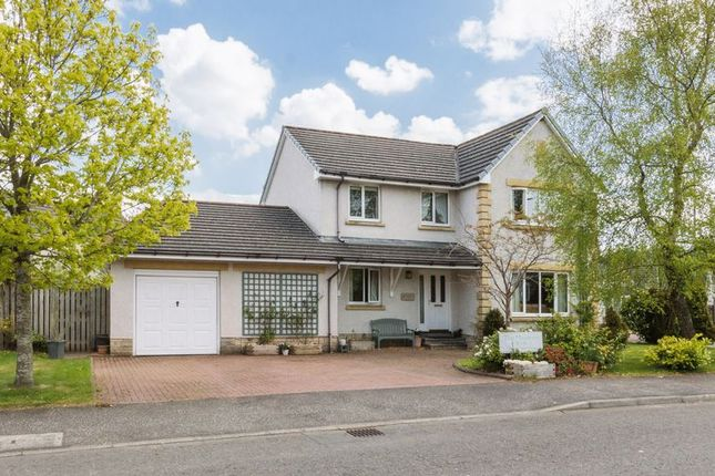 Thumbnail Detached house for sale in 4 Robinsland Drive, West Linton, The Borders