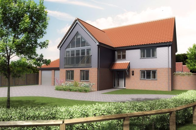 Thumbnail Detached house for sale in Plot 1, Barn Owl Close, Reedham
