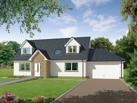 Thumbnail Detached house for sale in Copperfields, Glenfarg