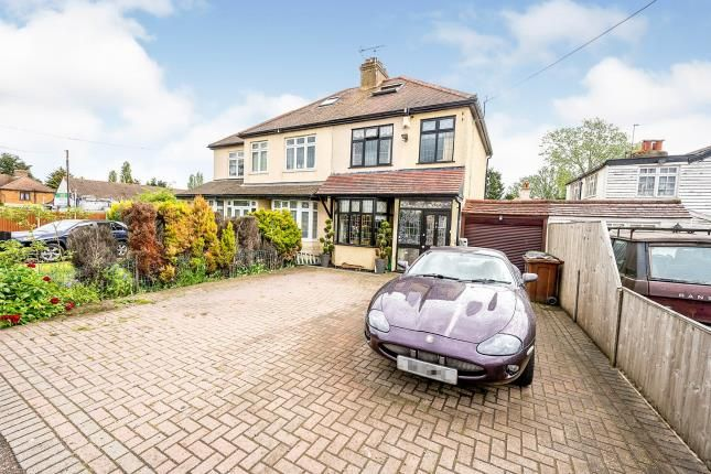 Thumbnail Semi-detached house for sale in Collier Row, Romford, Havering