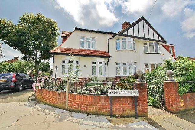 Thumbnail Semi-detached house to rent in Lyndhurst Avenue, Whitton, Twickenham
