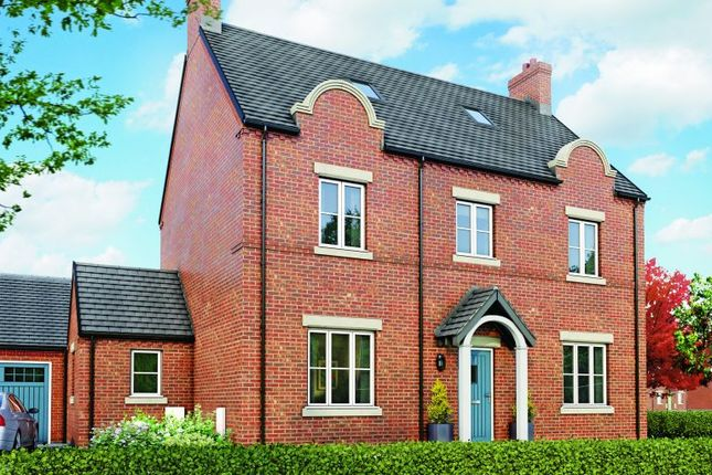 Thumbnail Detached house for sale in The Dovecote, Moira, Leicestershire
