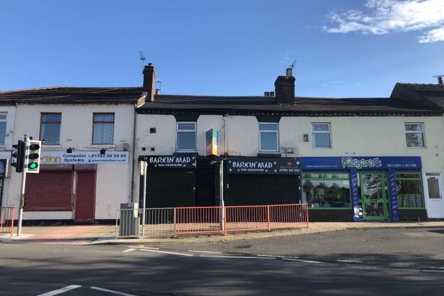 Thumbnail Retail premises for sale in Shop, 277-279 & 277A, Uttoxeter Road, Stoke-On-Trent