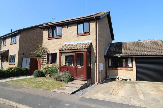 Thumbnail Detached house for sale in Greenwich Gardens, Newport Pagnell, Buckinghamshire