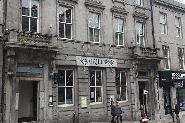 Leisure/hospitality for sale in Rox Grill Room, 23 Market Street, Aberdeen
