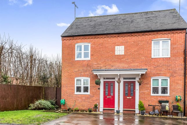 Thumbnail Semi-detached house for sale in Abbey Road, Rocester, Uttoxeter