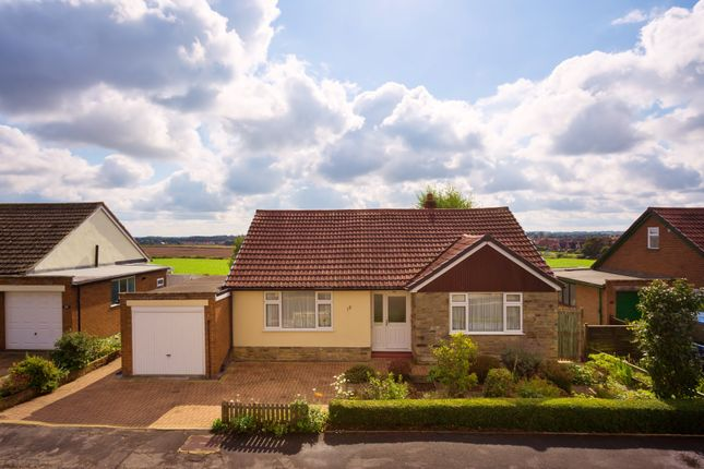 Thumbnail Detached bungalow for sale in St Johns Walk, Kirby Hill, Boroughbridge, York