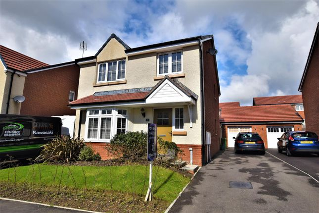 Thumbnail Detached house for sale in Brynteg Green, Beddau