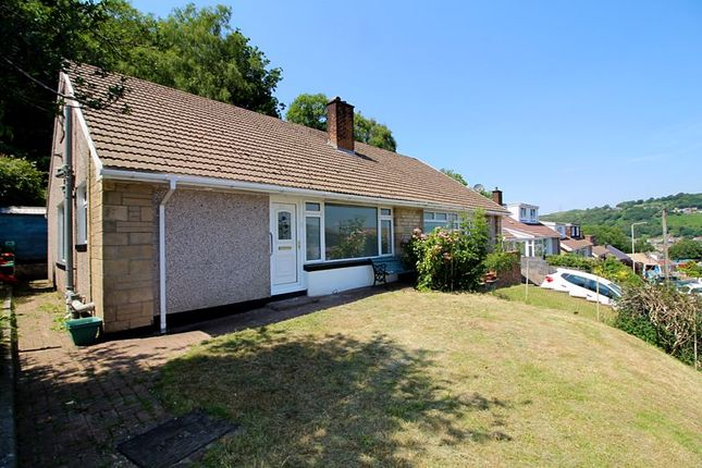 Thumbnail Semi-detached bungalow for sale in Coed Isaf Road, Measycoed, Pontypridd