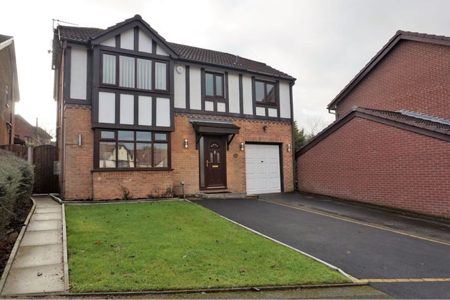 Thumbnail Detached house for sale in Gildersdale Drive, Manchester